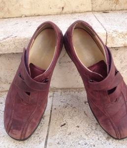 Grandma's Red Shoes